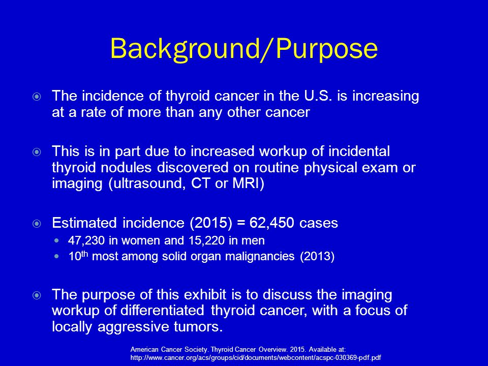 papillary thyroid cancer workup