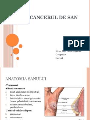 supravietuirea in cancerul de san hpv alla gola sintomi