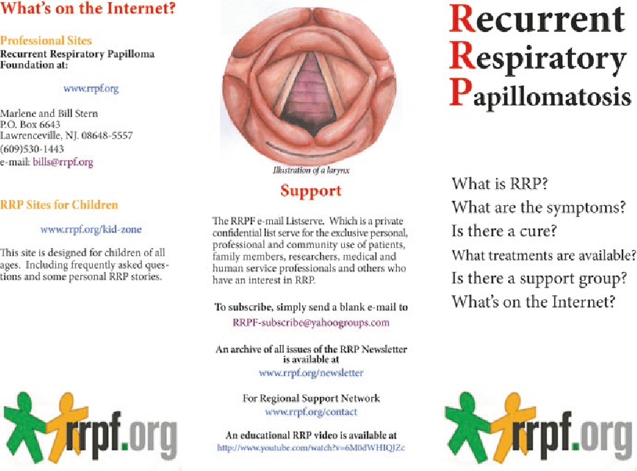 recurrent respiratory papillomatosis cost