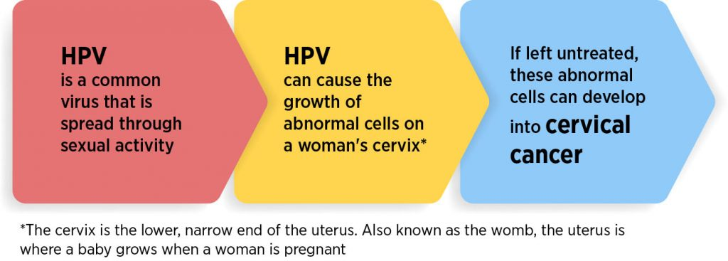 human papilloma virus causing cervical cancer