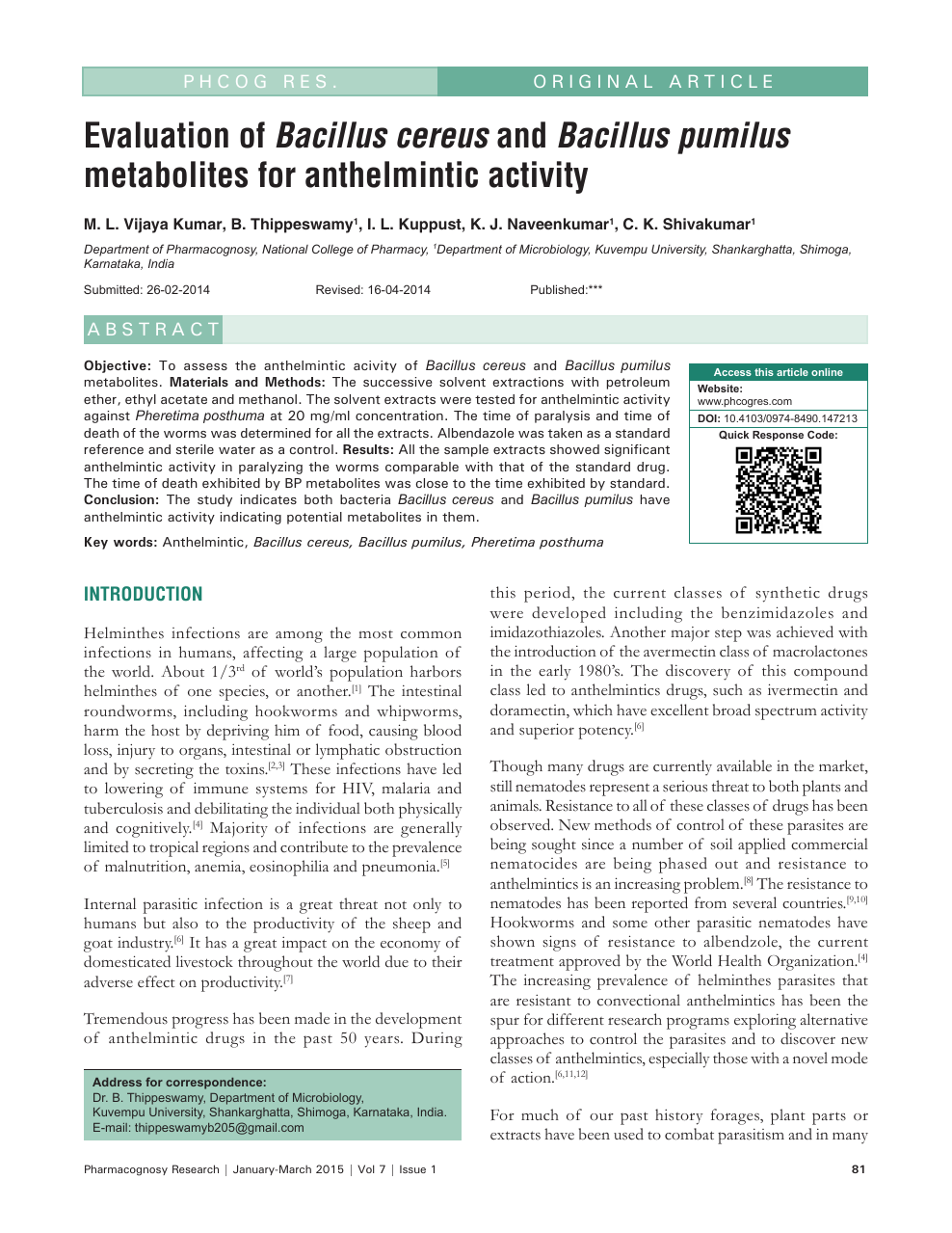 anthelmintic activity of albendazole in sheep hpv virus pozitivan