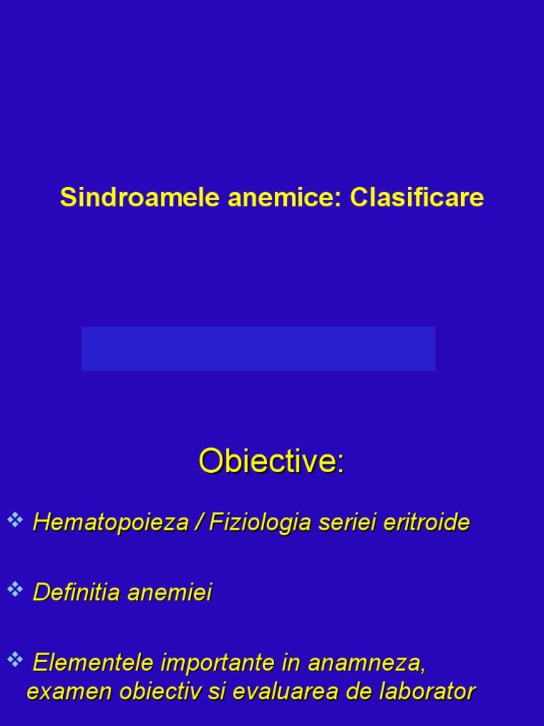 anemie normocitara normocroma hiporegenerativa hpv virus m?nd