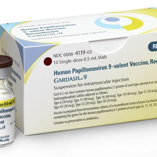 human papillomavirus vaccine gardasil