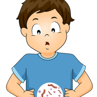Limbricii la copii: simptome si tratament