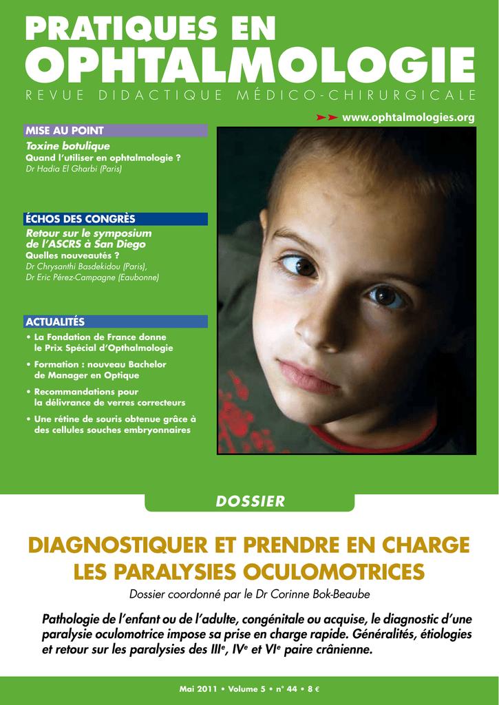 toxine botulique ophtalmologie cancerul pulmonar tratament