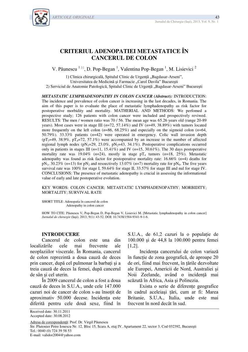 cancerul de san clasificare