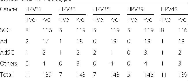 papilloma virus hpv 33