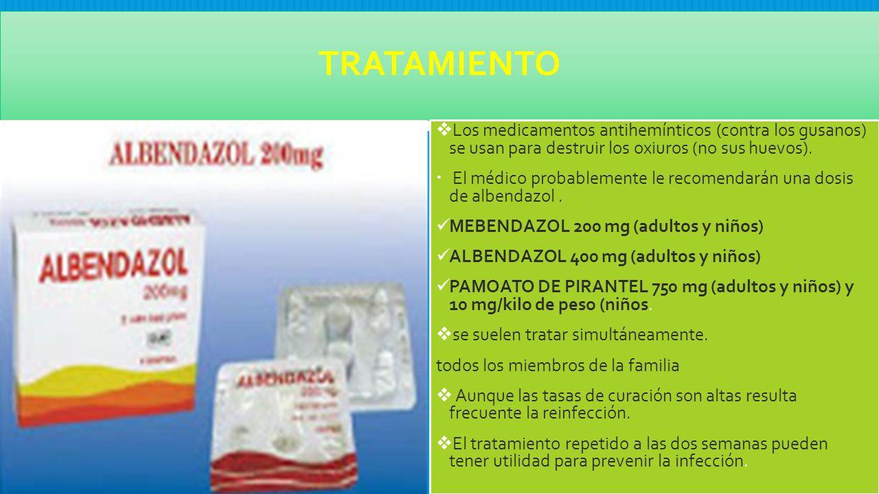 Remediu parazit vermox