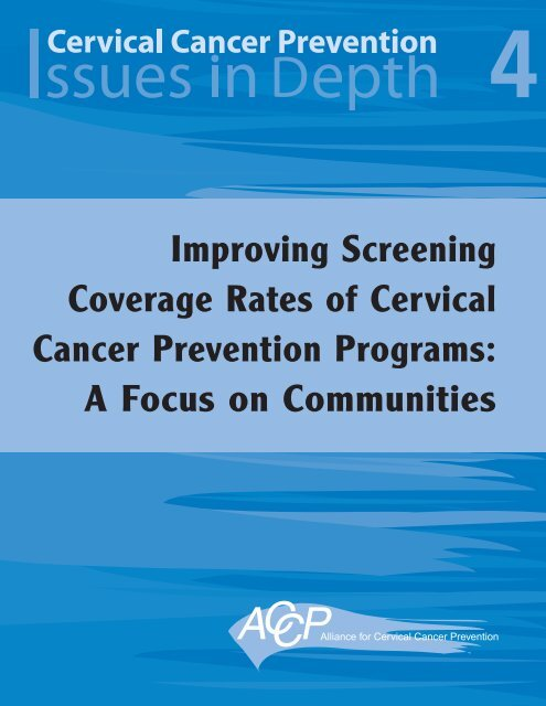 integrating hpv testing in cervical cancer screening programs a manual for program managers