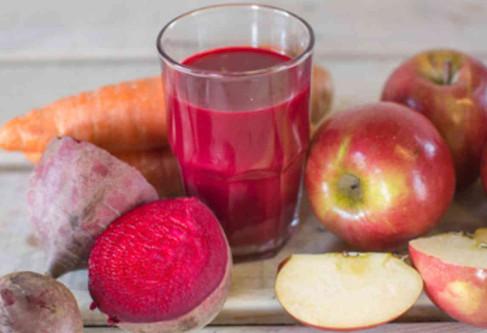 Detoxifiere cu suc de sfeclă roşie