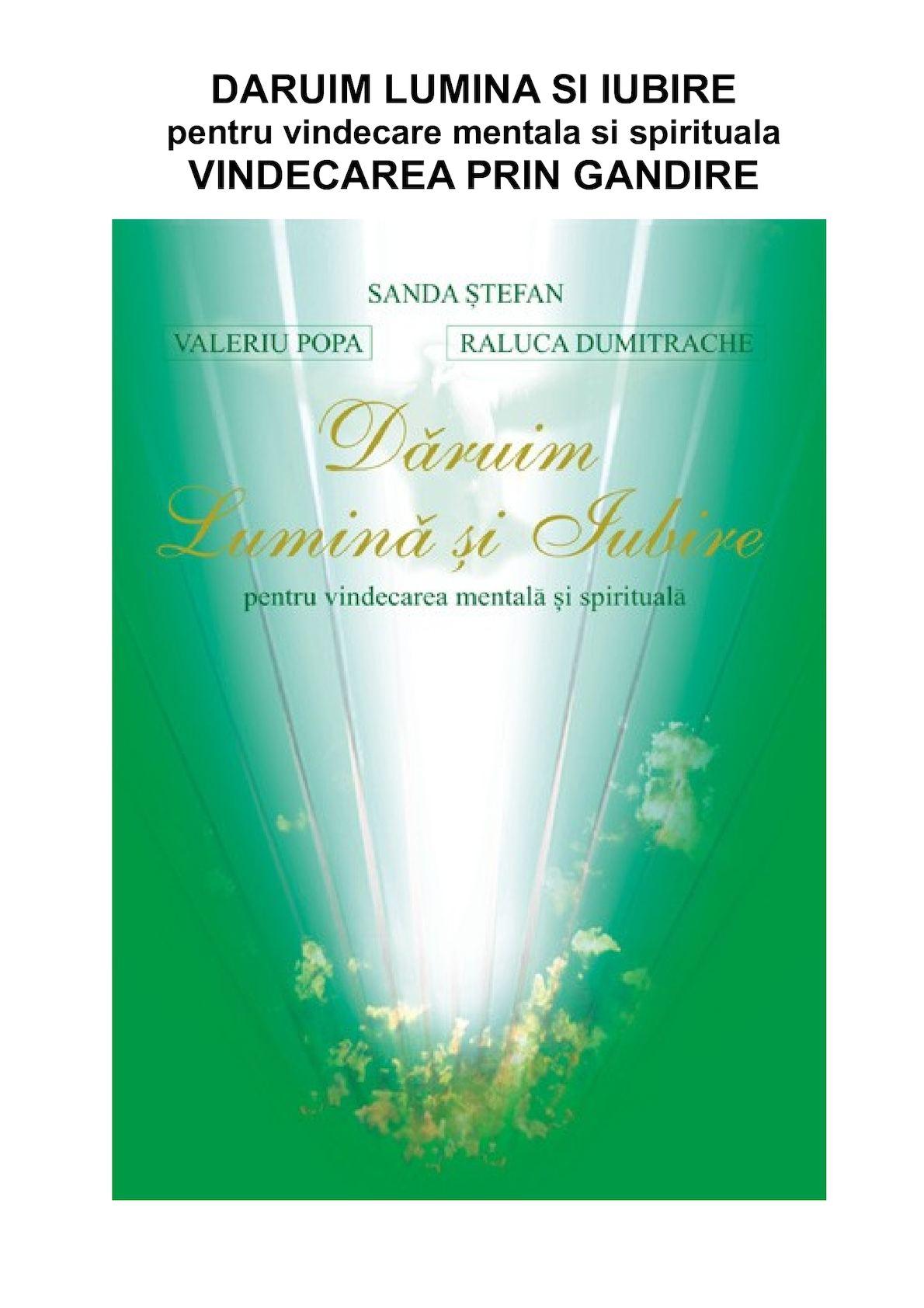 Cauzele Spirituale Ale Bolilor Valeriu Popa