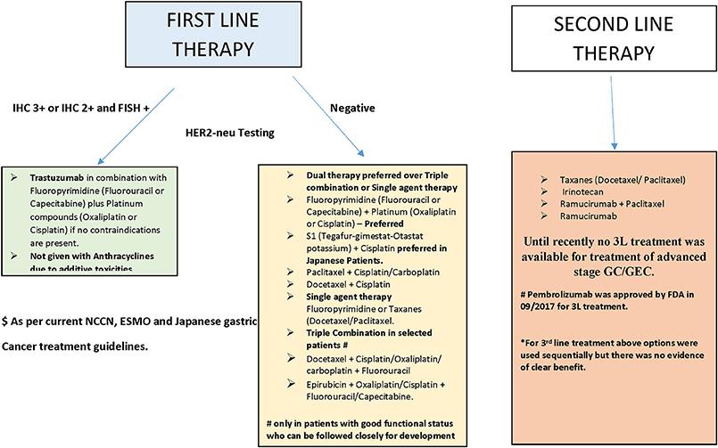 gastric cancer treatment algorithm