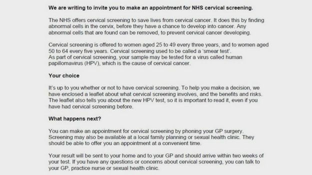 hpv diagnosis nhs analize pt anemie