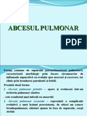 cancer pulmonar primitiv