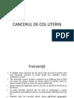 cancerul de col uterin ppt