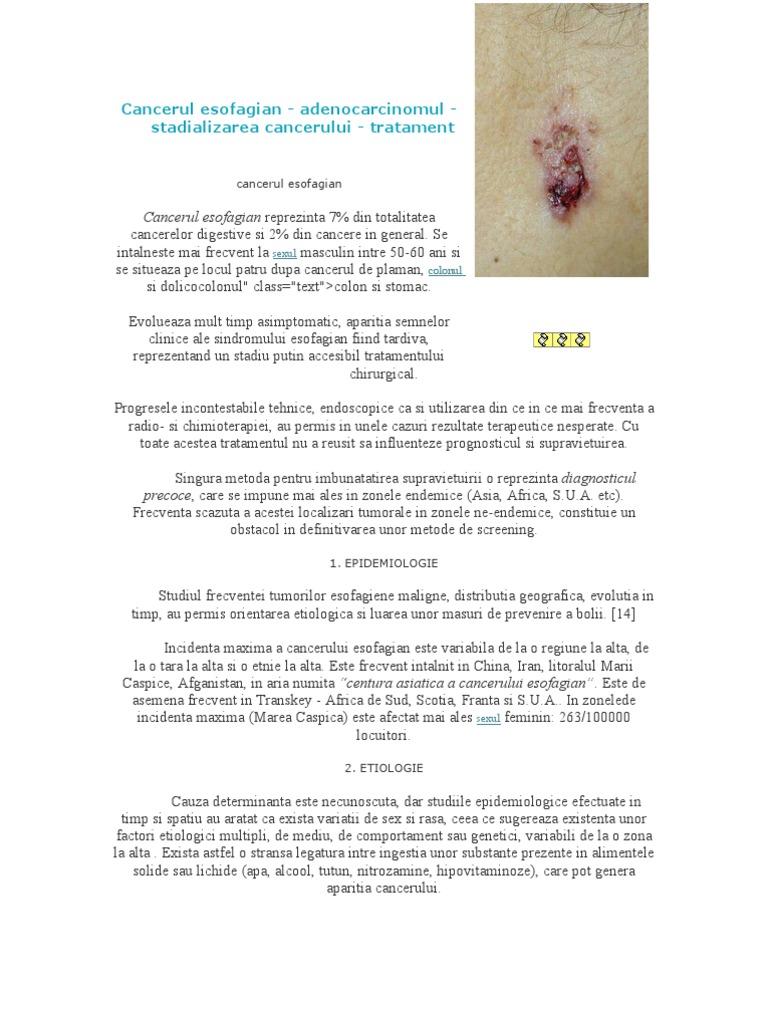 human papillomavirus and gastrointestinal cancer a review cancer de piele faza de inceput