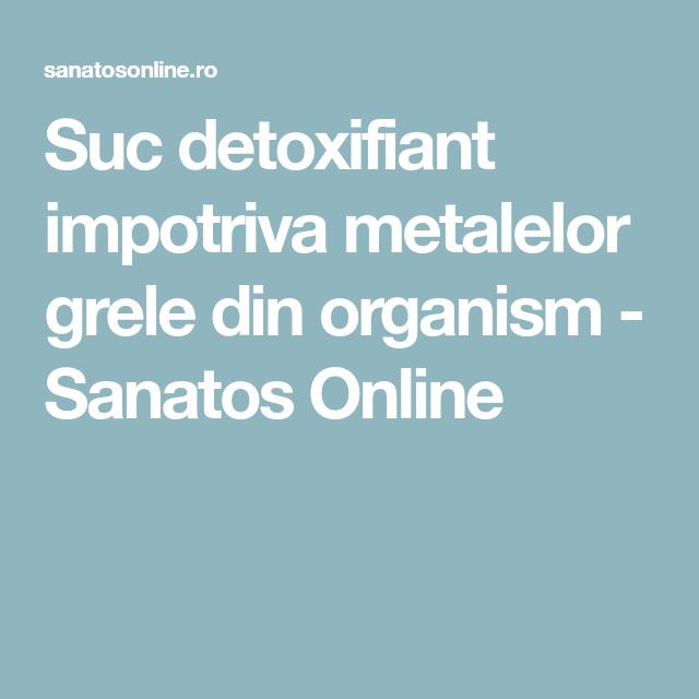 detoxifiant pt metale grele