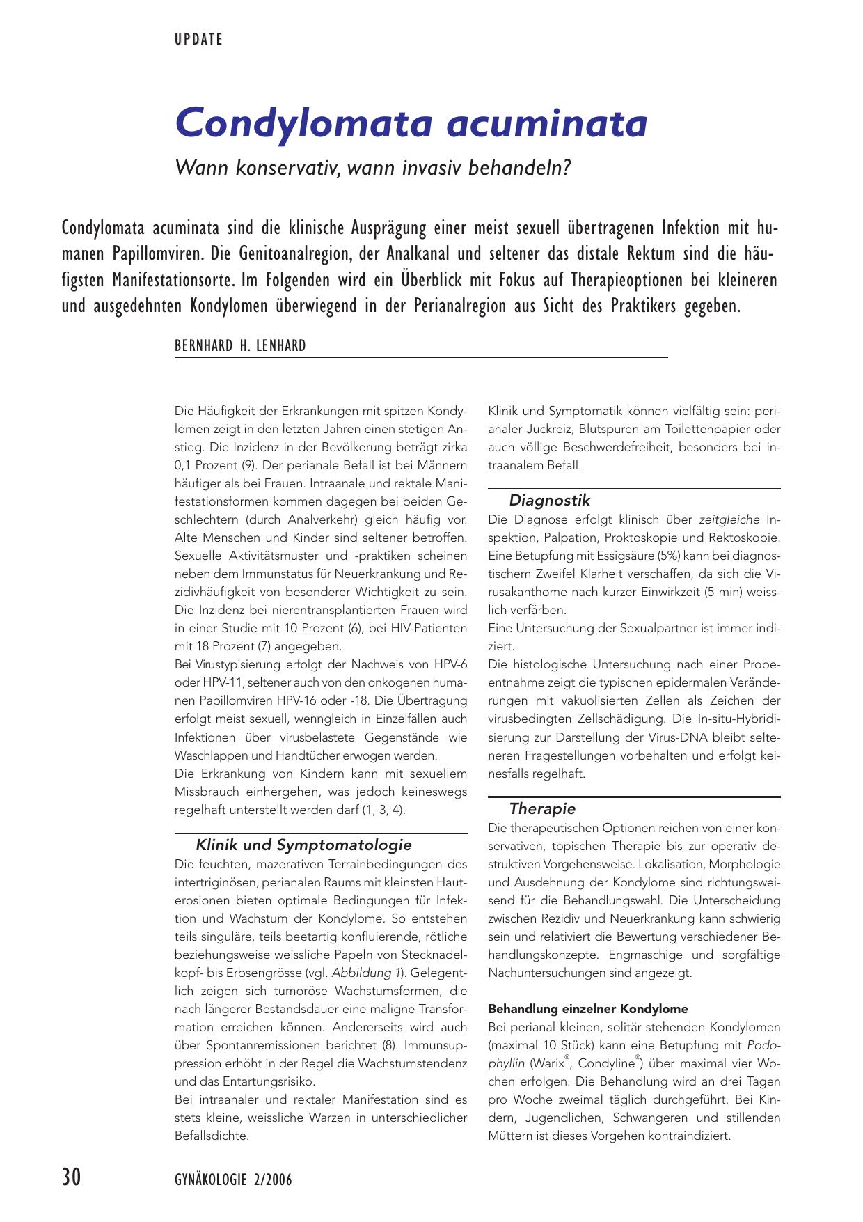 condylomata acuminata behandlung bei mannern respiratory papillomatosis medication