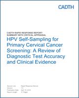 hpv dna test for cervical cancer screening hpv et cancer orl