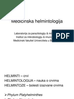 helminti podela