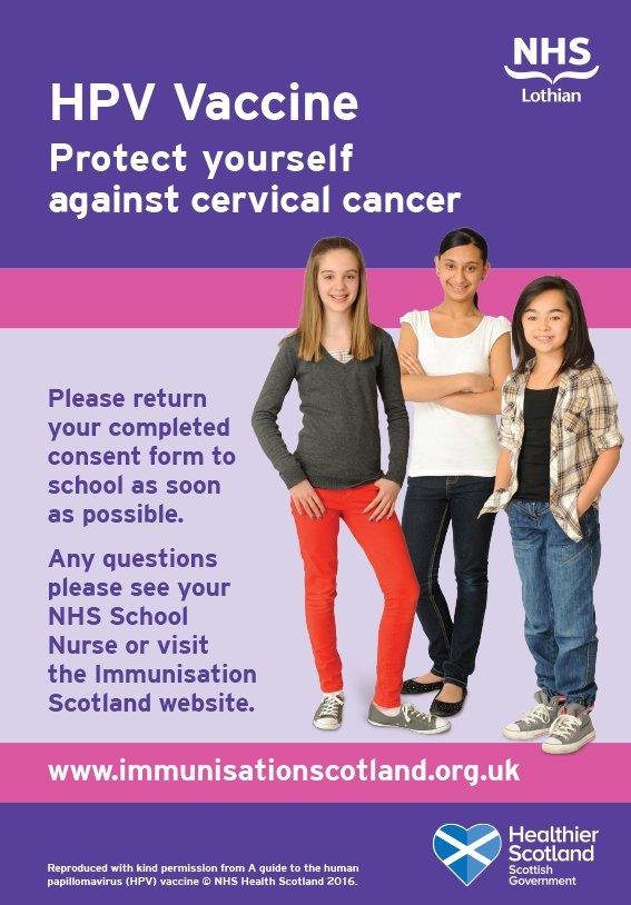hpv vaccine nhs scotland hpv head cancer