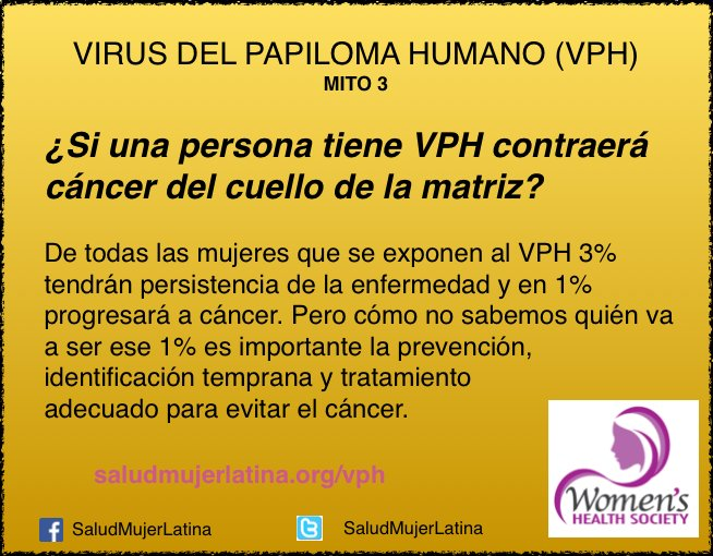 papiloma humano es igual a cancer