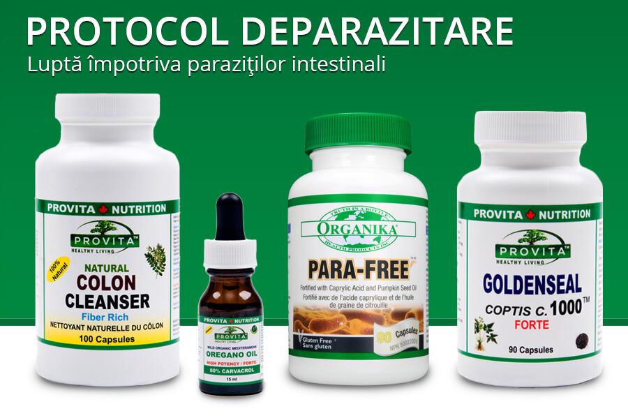 paraziți intestinali tratament
