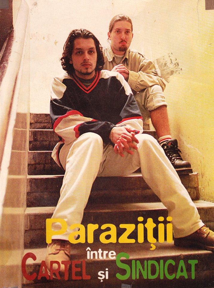 parazitii primul album