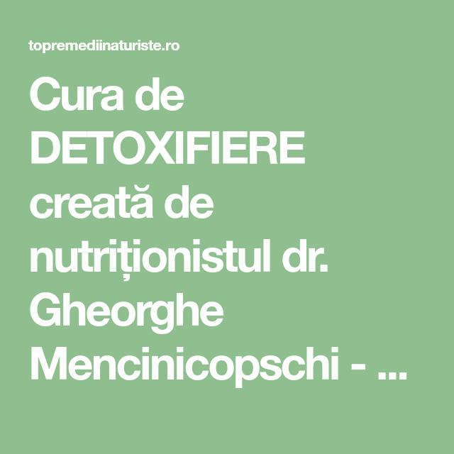 regim detoxifiere 3 zile metastatic cancer in colon