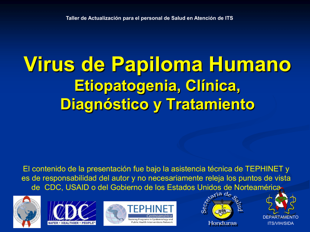 papiloma virus humano diagnostico