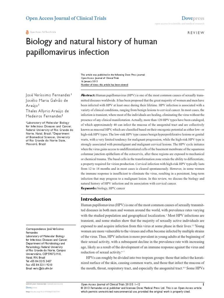 papillomavirus medical journal detoxifiere colon simptome