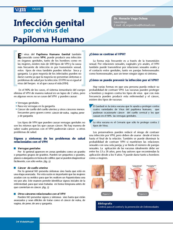 papiloma humano signos y sintomas