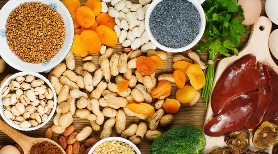 vitamine c anemie ciuperci portobello