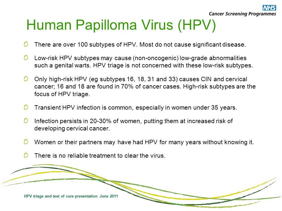 nhs hpv test of cure raie la om