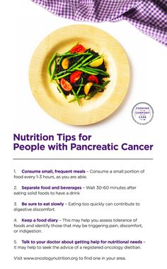 pancreatic cancer foods to avoid