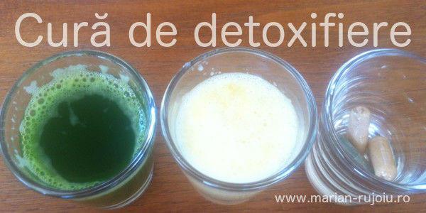 cura detoxifiere 1 zi