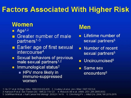 hpv high risk causes