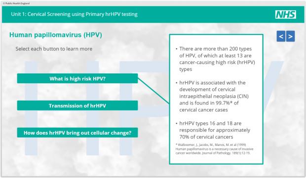 hpv diagnosis uk