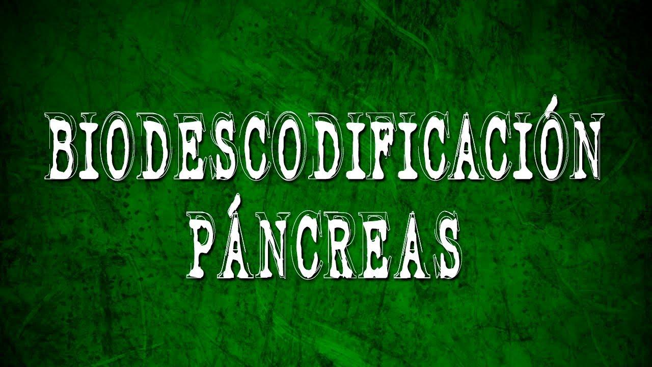 cancer de pancreas bioneuroemocion