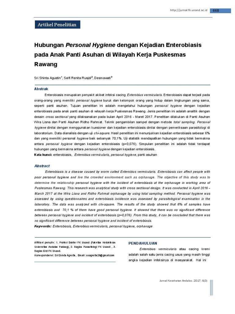 enterobius vermicularis jurnal virus del papiloma nic 1