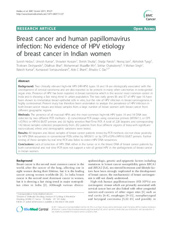 cancer gat hpv