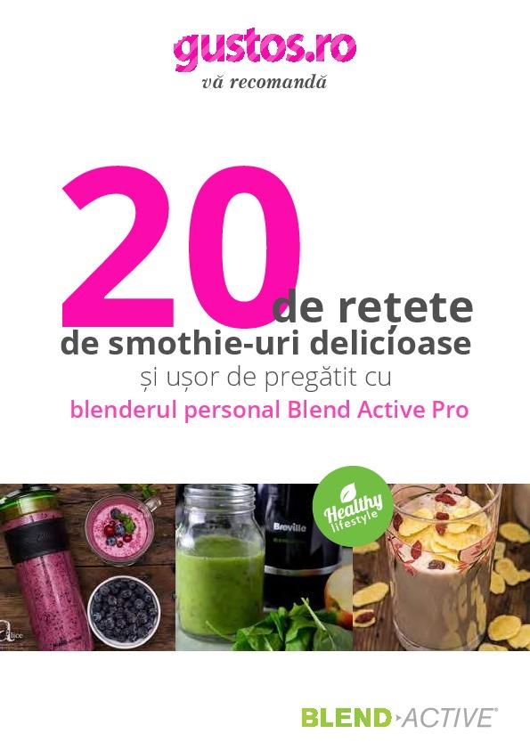 Cură de detoxifiere de 7 zile cu smoothie-uri verzi — Doza de Sănătate