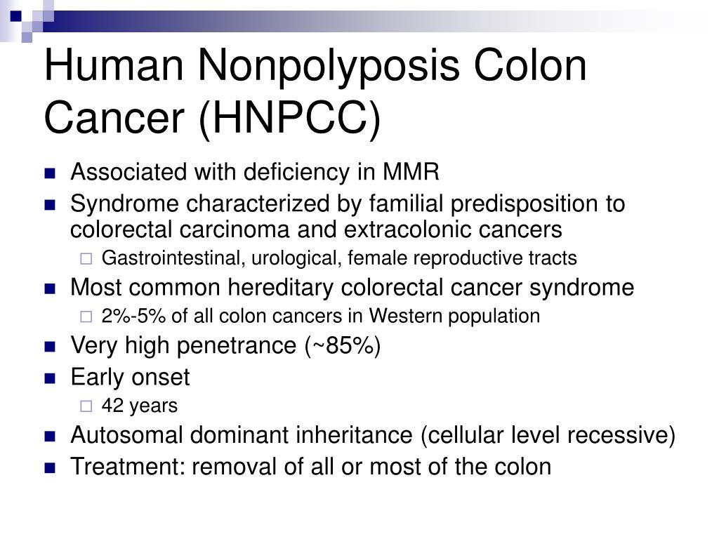 Factorii de risc ai cancerului colorectal