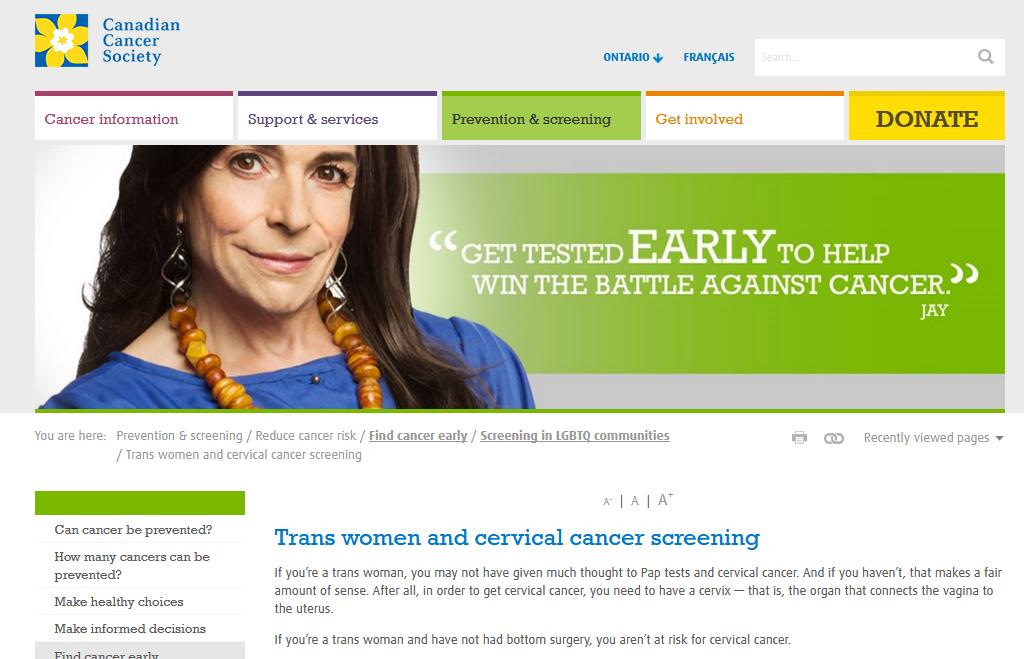 cancer de col uterin traducere in engleza