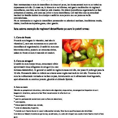 cura de detoxifiere 9 zile helminth infection ppt