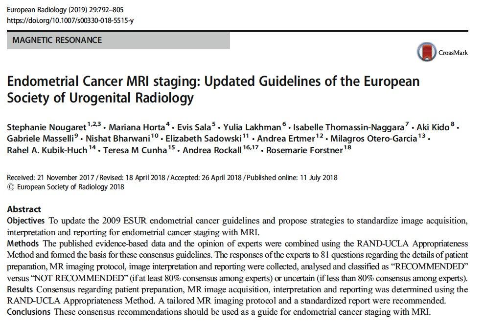 endometrial cancer mri staging