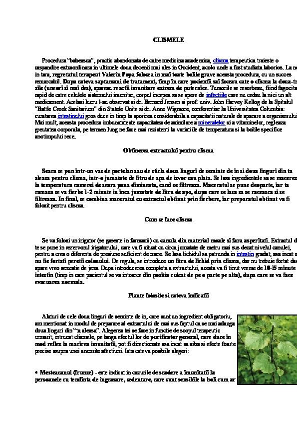 detoxifiere cu apa si sare amara caracteristicas del papiloma humano resumen