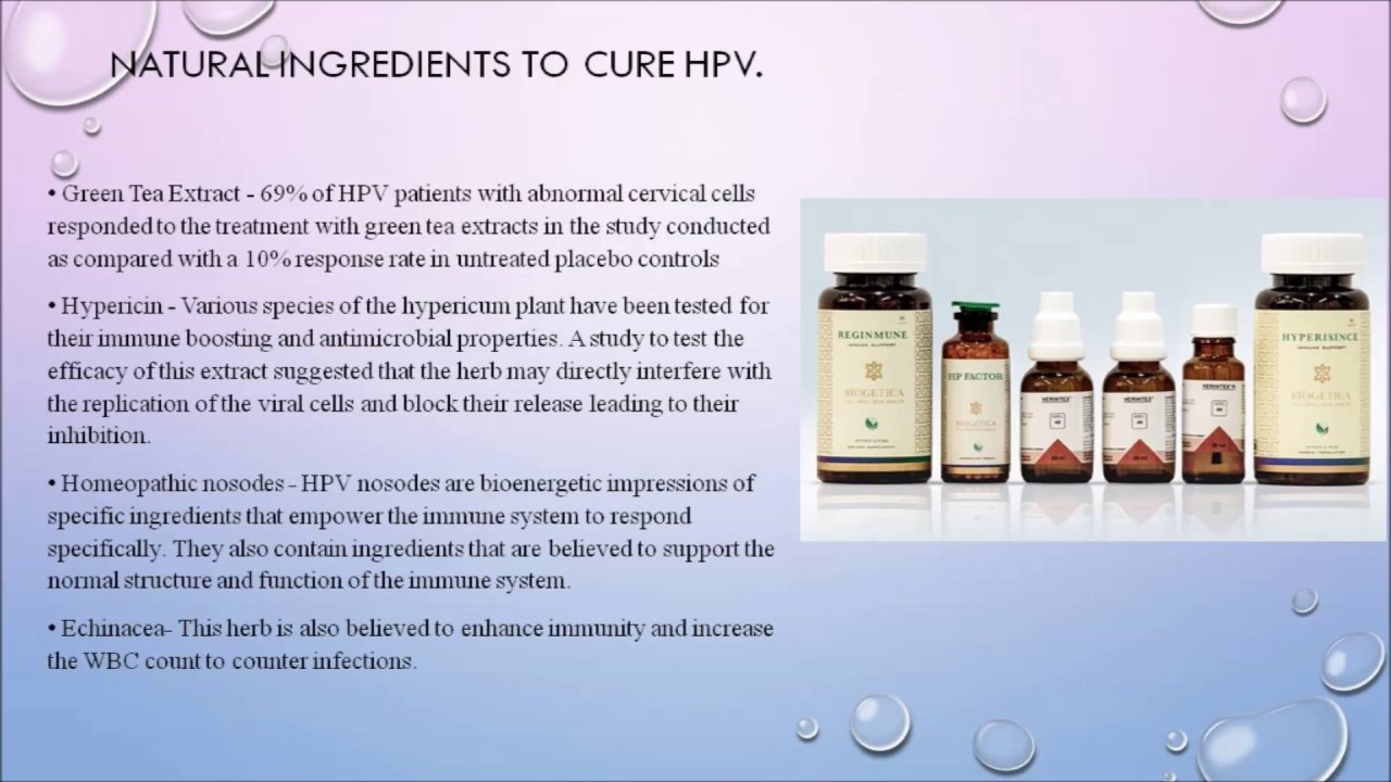 how to treat papillomavirus naturally