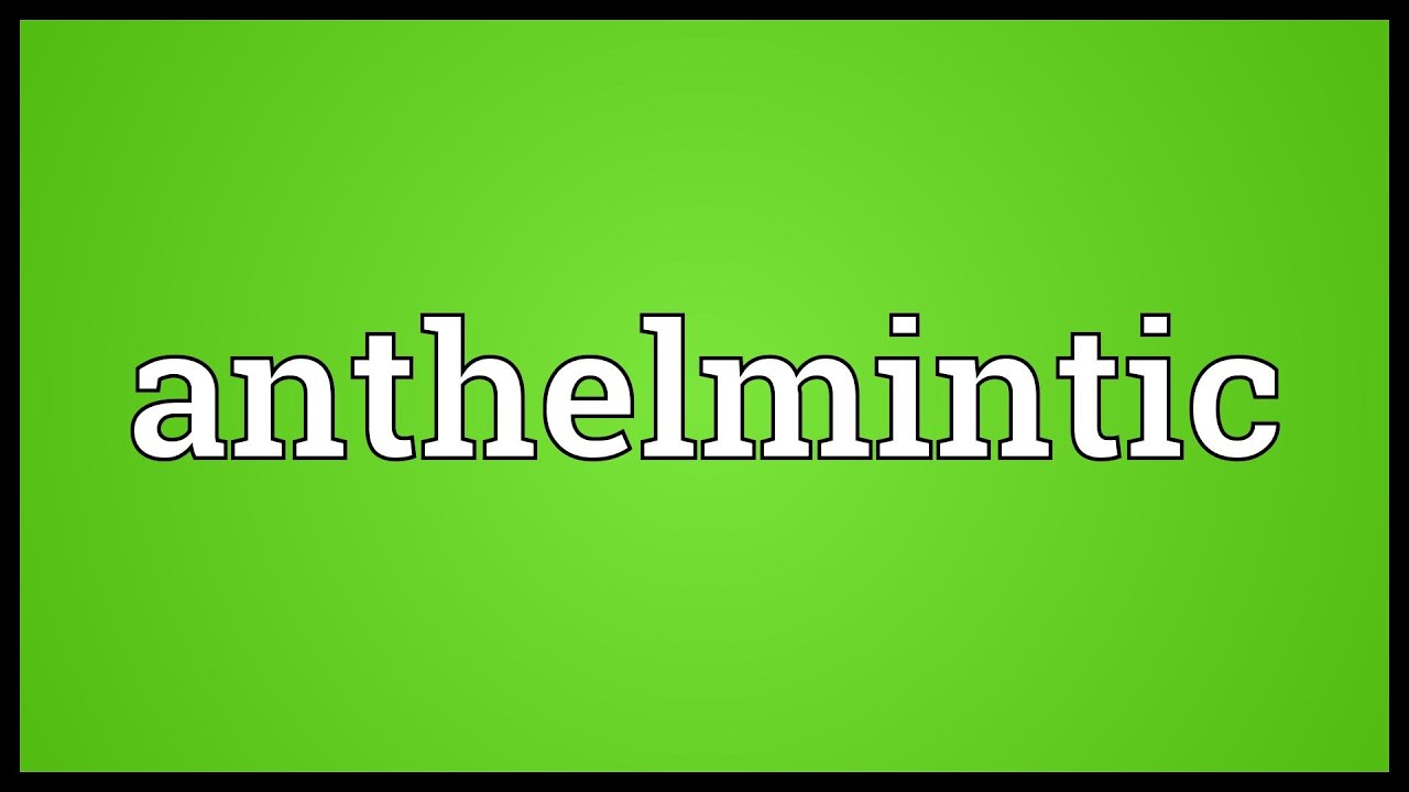 meaning of anthelmintic in telugu wart on foot pain
