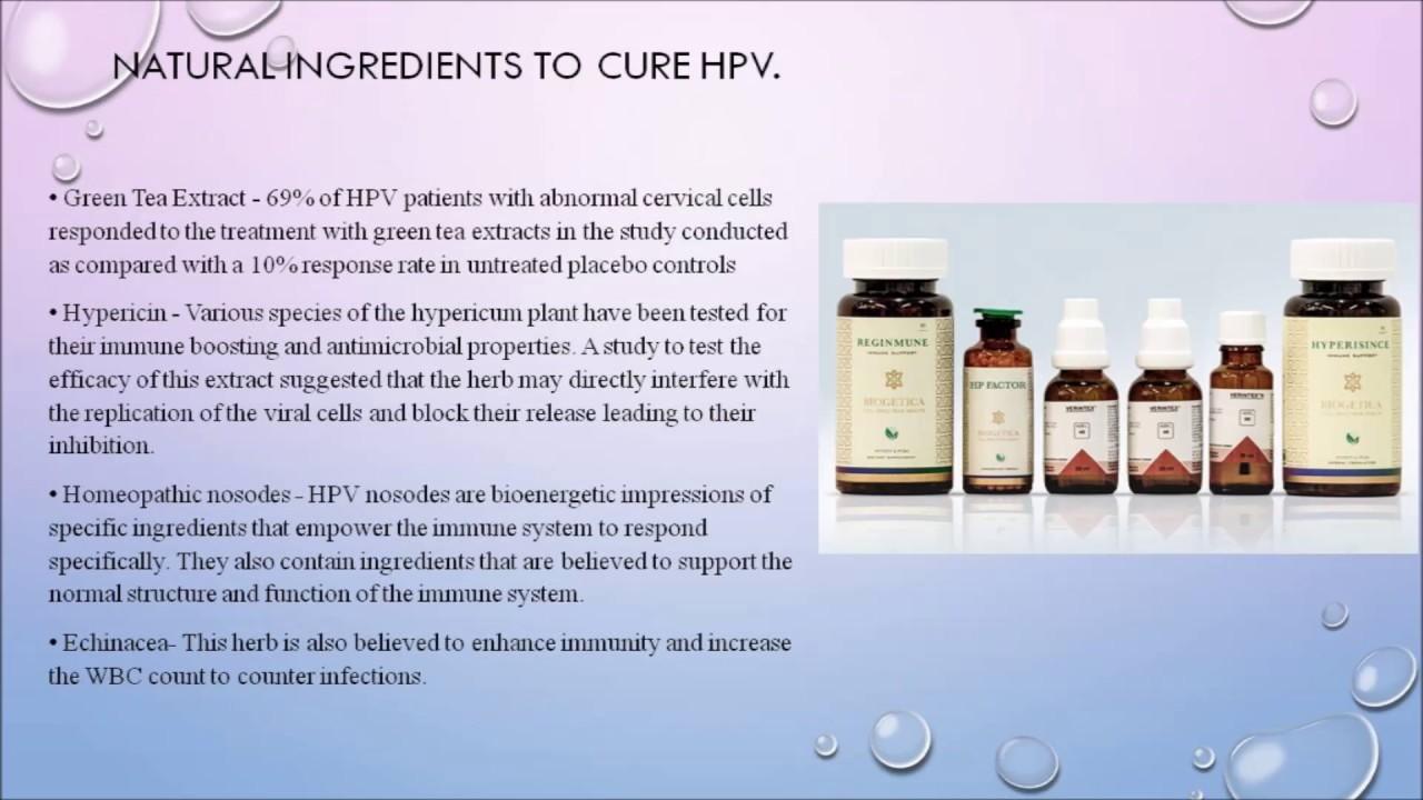 treating human papillomavirus naturally